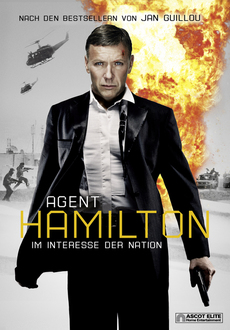 Cover - Agent Hamilton –- Im Interesse der Nation